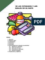 Estudio de Las Vitaminas y Los Minerales en Mi Dieta
