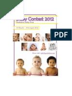 Peekaboo Baby Contest 2012
