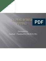 Global Wireless E-Voting