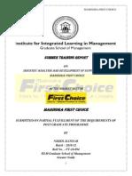 MFC Internship Project