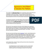 Compressors & Silent Root Causes for Failure
