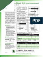 2205 Spec Sheet