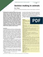 Consensus Decision Making in Animals - Larissa Conrandt and Timothy J. Roper