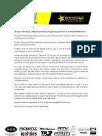 Cronica Baja Andalucia 2012 Team Promyges Rockstar