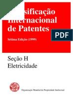 classificação das patentes