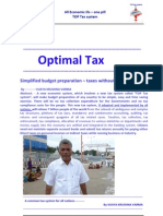 Optimal Tax