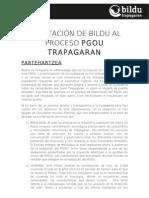 Alegaciones PGOU Trapagaran. urbanismo social. 2012-03-20