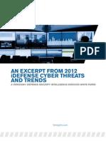 Whitepaper Idefense 2012 Trends