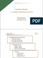 Broadband Wireless Technologies & Business