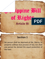 Philippine Bill of Rights