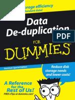 Data Deduplication for Dummies Book[1]