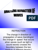 1.3 Analysing Refaction of Waves