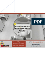 Enterprise Applications, Web & Analytics Trends 2012