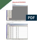 Configuración del WEB-PROXY