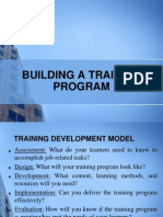 Building a Training Program (1)