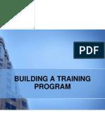 Building a Training Program