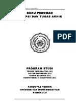 Buku Pedoman Skripsi Dan Tugas Akhir 2011-2012