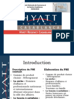 Hyatt Regency Casablanca - Projet Marketing