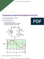 Print - Telecommunication Engineering_ Komponen-Komponen Rangkaian Satu Fasa