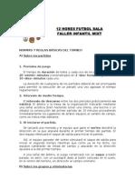 NORMAS Y REGLAS BÁSICAS DEL TORNEO
