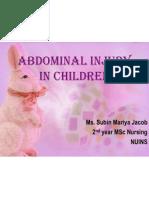 Abdominal Injury in Children