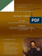 Treaty of Waitangi No.1