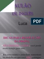 Aulão Luca 2011