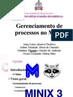 Gerenciamento de Processo Do Minix