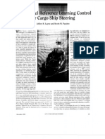 01 Fuzzy Model Reference Learning Control for Cargo Ship Steering