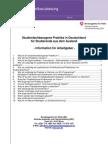 Merkblatt Studienfachbezogene Praktika i