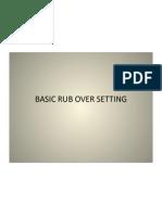 rub over setting