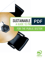 PEFC Sustainable Timber Procurement Public Sector