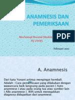 Anamnesis Dan Pemeriksaan 20031