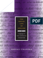 The Sexual Life of English by Shefali Chandra