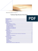 Technical Document Chat Application