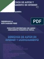 Presentacion Power Point Derechos de Autor
