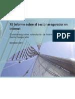 XII Informe Sobre El Sector Asegurador en Internet