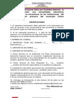 instrumento detectar  població del municipio Simón Rodr