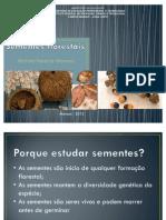 Introdução sementes e frutos