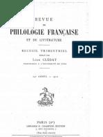 Eduard Hrkal - Grammaire historique du patois picard de Démuin (Revue de philologie française, T.24, 1910)(gallica)