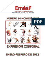 Emasf Numero 14 Expresion Corporal