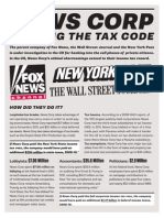News Corp Hacking the Tax Code