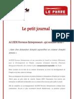 Le Petit Journal 2012 Fi