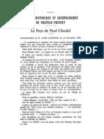 Elements picards chez Paul Claudel (Mémoire T.19, histoireaisne.fr)