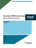 DEsign Reference Manual Sensor Less PMSM Vector Control