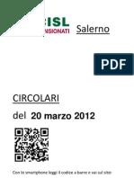 Circolari Del 20 Marzo 2012