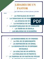 Cualidades de Un Pastor