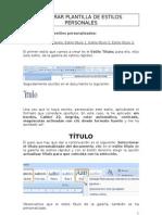 GENERAR PLANTILLA DE ESTILOS rápidos - copia