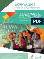 Unite-CPHVA Annual Professional Conference 2009