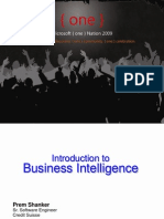 SQL01 - Introduction to Business Intelligence